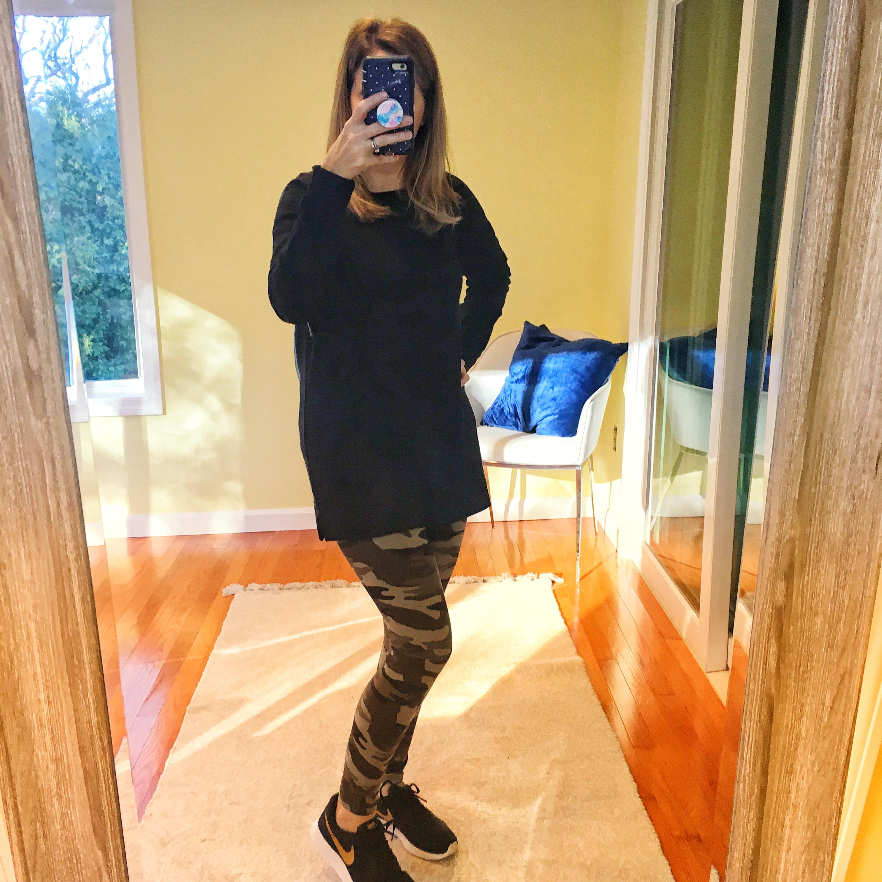 express camo leggings
